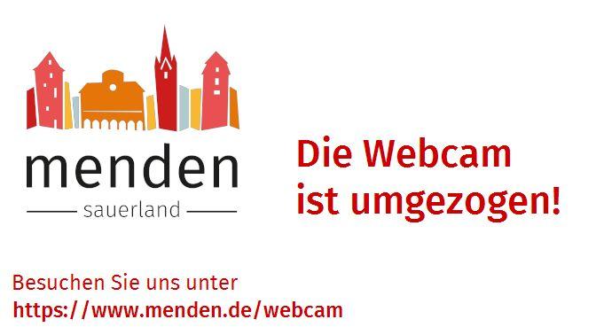 Webcam Marktplatz Menden - Archivbild vom letzten Samstag